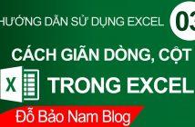 Hướng dẫn cách giãn dòng trong Excel tự động cực đơn giản