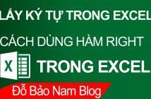 Cách dùng hàm RIGHT trong Excel từ cơ bản đến nâng cao