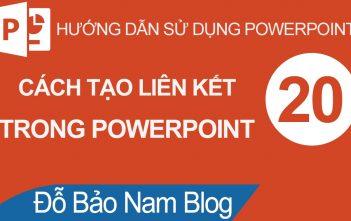 03 cách tạo liên kết trong Powerpoint (cách tạo hyperlink)