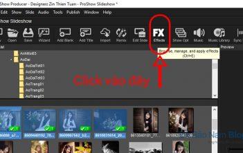 Cách add style vào Proshow Producer trực tiếp trên phần mềm