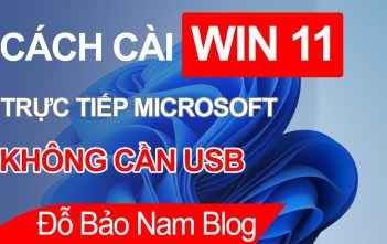 Cách cài Win 11 không cần usb trực tiếp Microsoft mới nhất