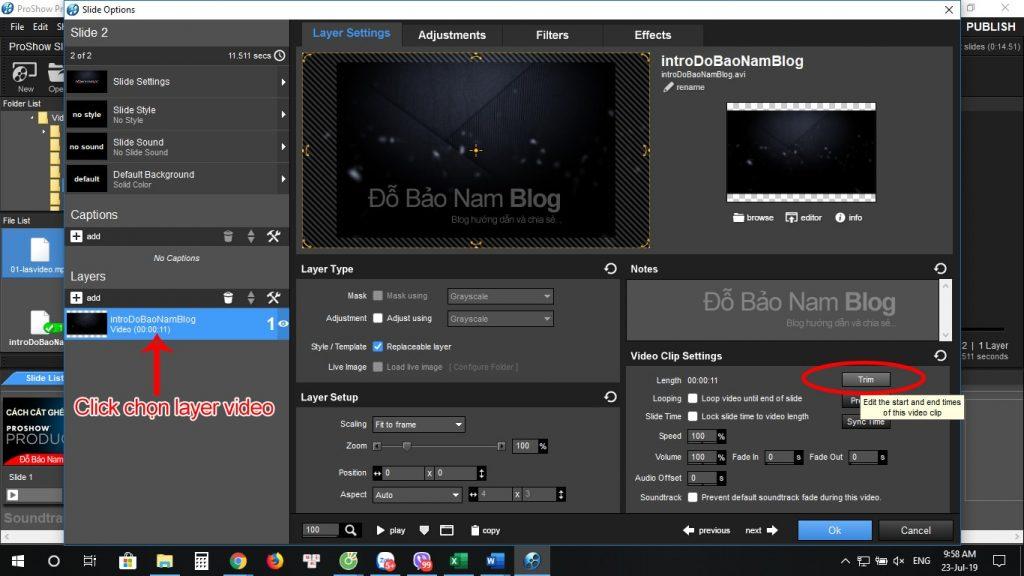 Cách cắt ghép video trên máy tính bằng Proshow Producer - Ảnh 01
