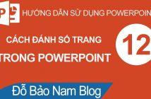 Cách đánh số trang trong Powerpoint, chèn header footer vào slide