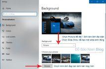 Cách đổi hình nền máy tính Windows qua ảnh, video minh họa