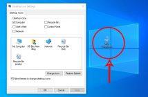 Cách đưa biểu tượng My Computer ra màn hình desktop Win 10