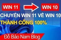 02 cách hạ WIN 11 xuống WIN 10 nhanh và đơn giản nhất
