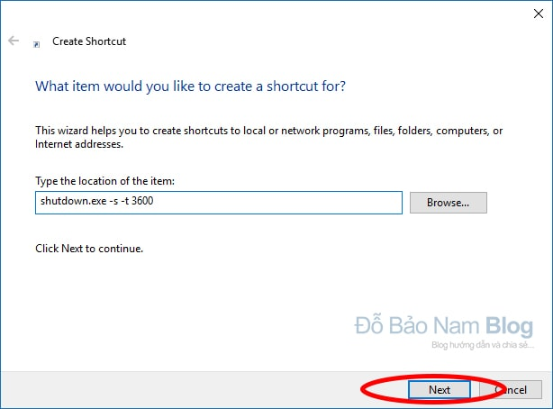 Hướng dẫn cách hẹn giờ tắt máy tính không dùng phần mềm - B02