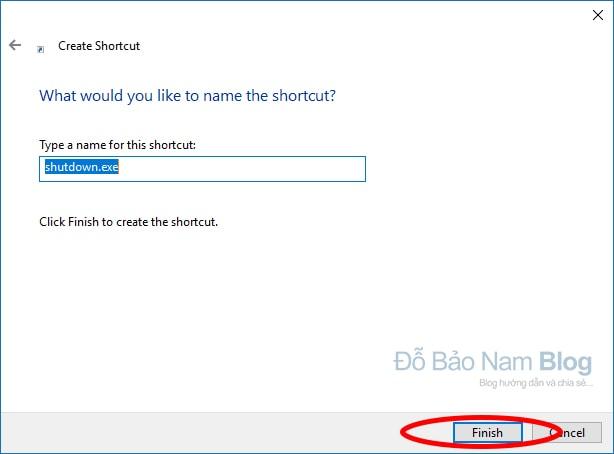 Hướng dẫn cách hẹn giờ tắt máy tính không dùng phần mềm - B03-2