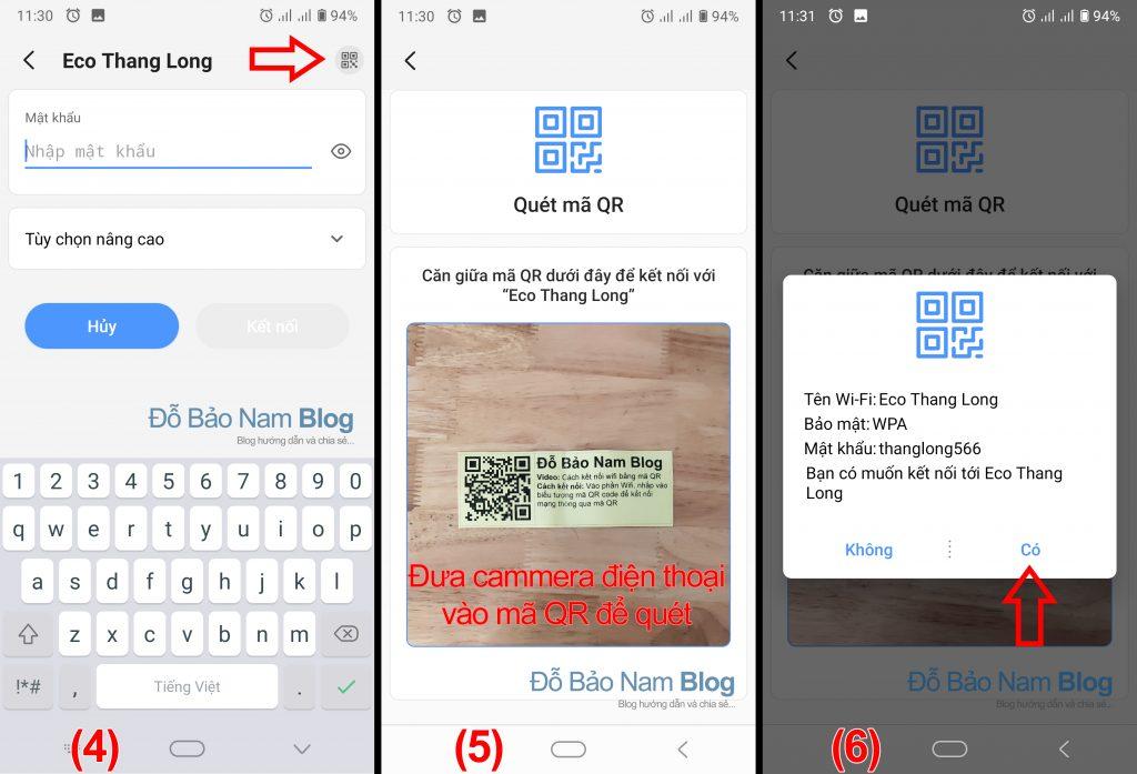 Cách kết nối wifi bằng mã QR trên Android - Ảnh minh họa 2