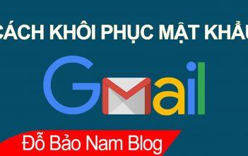 Hướng dẫn cách khôi phục tài khoản Gmail, khôi phục tài khoản Google