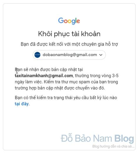 Hướng dẫn cách khôi phục tài khoản Gmail qua hình ảnh - Hình 6