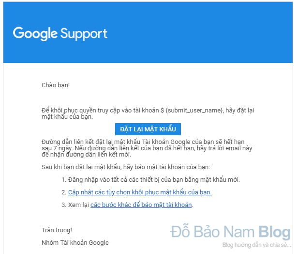 Hướng dẫn cách khôi phục tài khoản Gmail qua hình ảnh - Hình 7