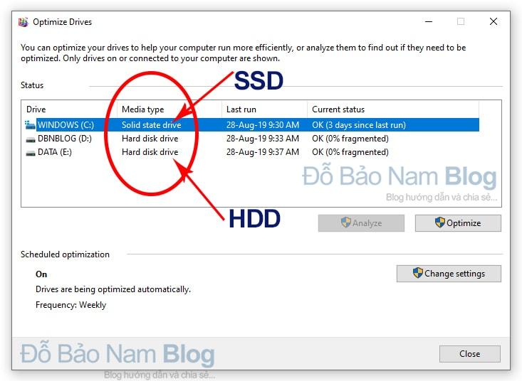 Cách kiểm tra ổ cứng SSD hay HDD chính xác & đơn giản nhất