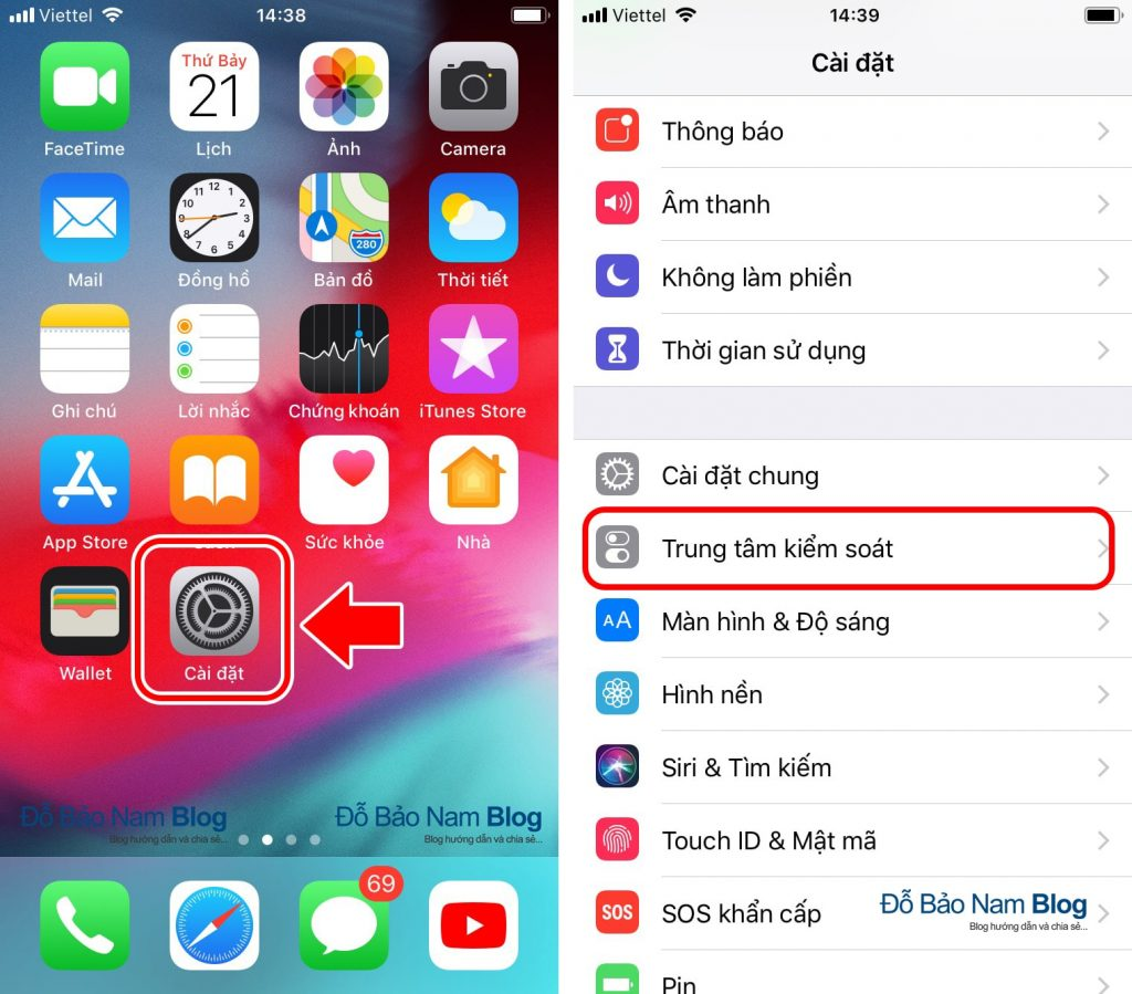 Hướng dẫn cách quay video màn hình iPhone cực đơn giản - B01