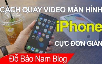 Hướng dẫn cách quay video màn hình iPhone, iPad cực đơn giản
