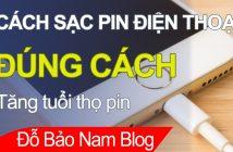 Cách sạc pin đúng cách cho smartphone (iPhone, Samsung...)