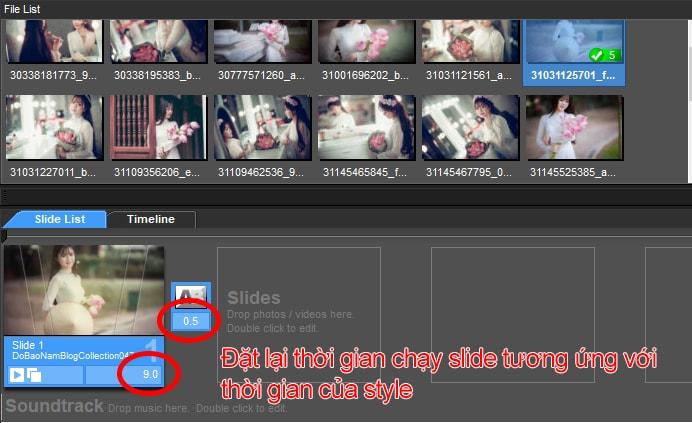 Cách tạo hiệu ứng trong Proshow Producer cho ảnh/video - B03