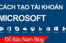 Cách tạo tài khoản Microsoft, cách tạo Outlook mới nhất