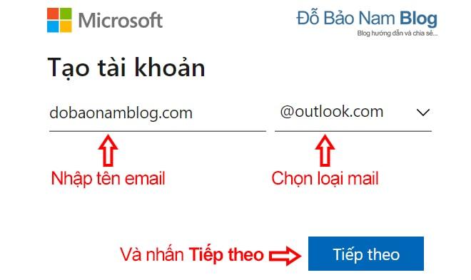 Cách tạo tài khoản Microsoft trên máy tính qua ảnh - Ảnh 1