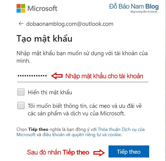 Cách tạo tài khoản Microsoft trên máy tính qua ảnh - Ảnh 2