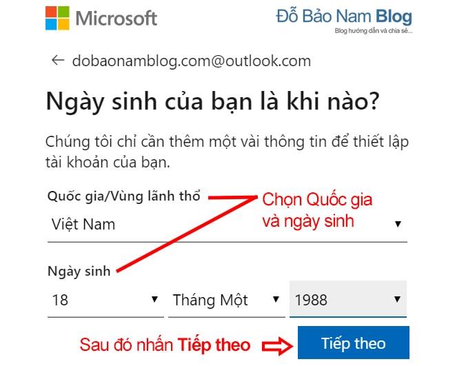 Cách tạo tài khoản Microsoft trên máy tính qua ảnh - Ảnh 4