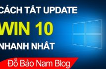 Hướng dẫn cách tắt update Win 10 vĩnh viễn nhanh & đơn giản