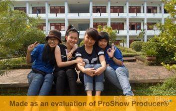 Cách xóa dòng chữ màu vàng trong Proshow Producer