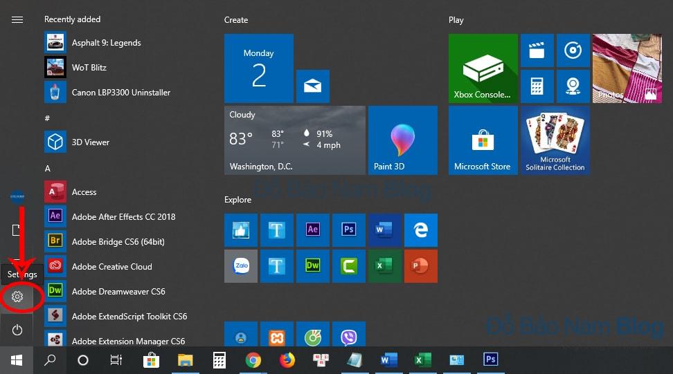 Cách xóa ứng dụng trên máy tính Win 10 bằng Windows Setting - b1
