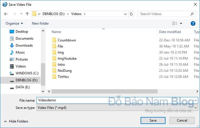 Cách xuất video chất lượng cao trong Proshow Producer - B03