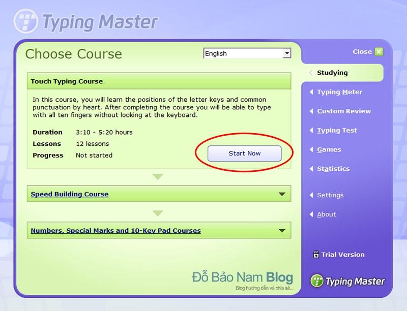 Hướng dẫn cài đặt phần mềm Typingmaster Pro - B10
