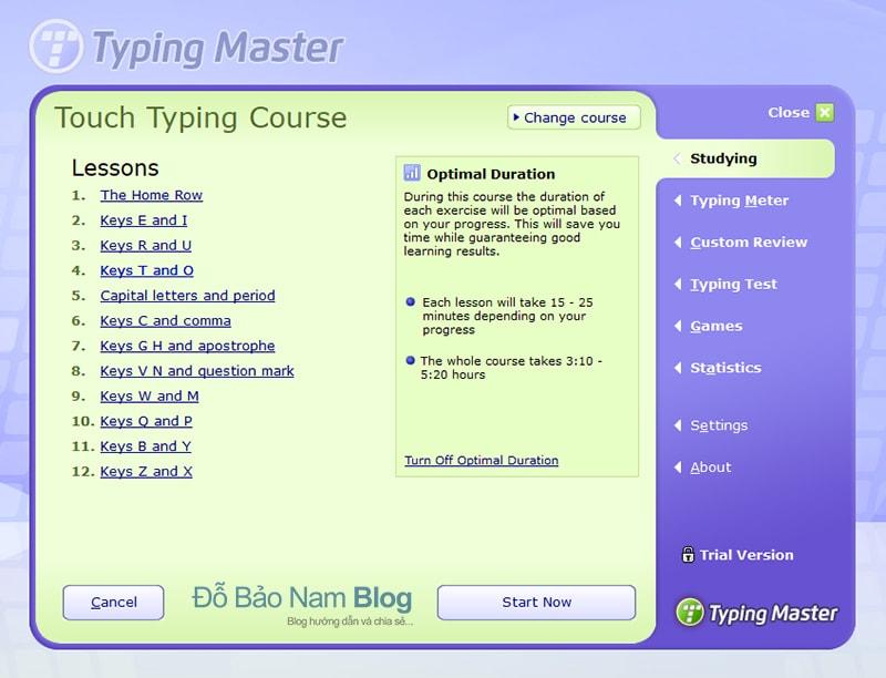 Hướng dẫn cài đặt phần mềm Typingmaster Pro - B11