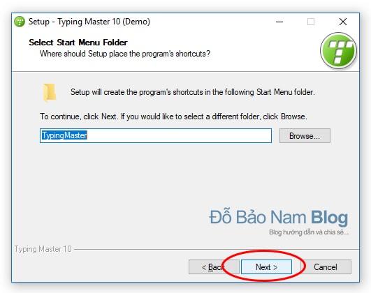 Hướng dẫn cài đặt phần mềm Typingmaster Pro - B6
