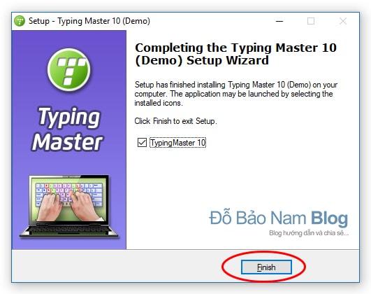 Hướng dẫn cài đặt phần mềm Typingmaster Pro - B8