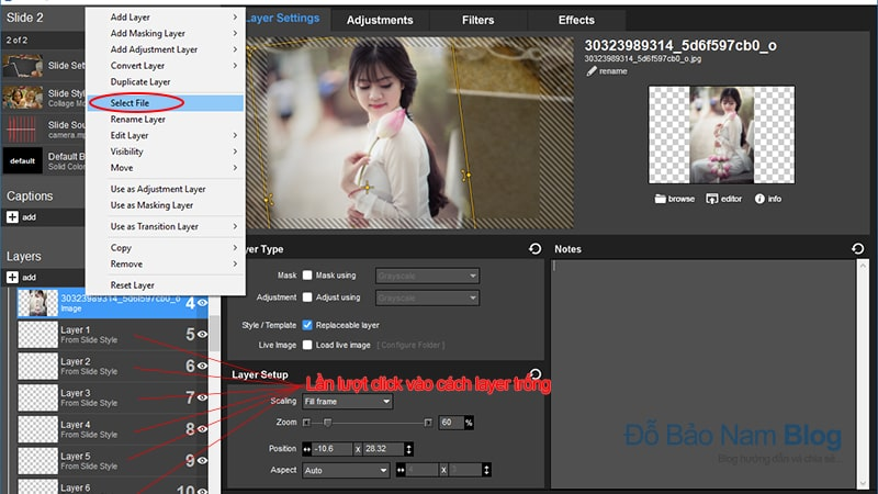 Download style Proshow Producer đẹp hiệu ứng chụp ảnh Collage Motion