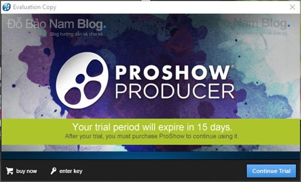 Hướng dẫn cách cài đặt phần mềm Proshow Producer chi tiết - Bước 12