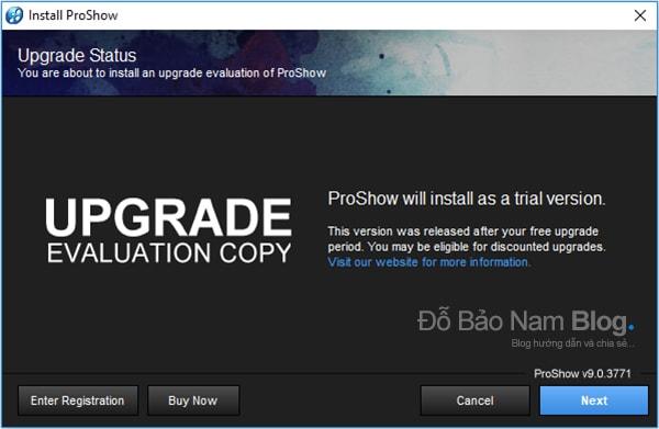 Hướng dẫn cách cài đặt phần mềm Proshow Producer chi tiết - Bước 04