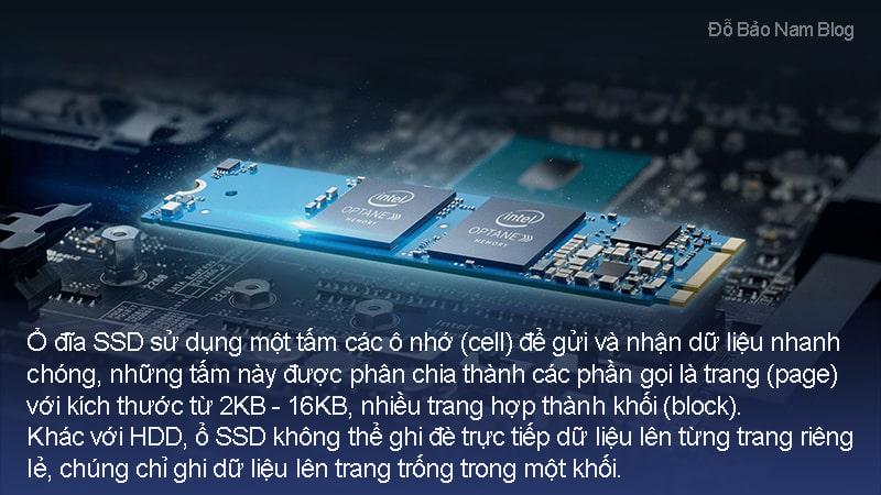 Nguyên lý hoạt động của ổ cứng SSD