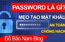 Password là gì và những lưu ý để cài đặt mật khẩu an toàn