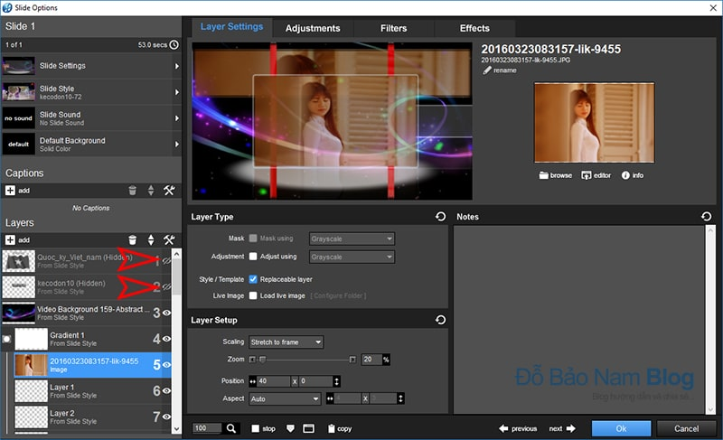 Share style Proshow Producer đẹp mới nhất by Kecodon10