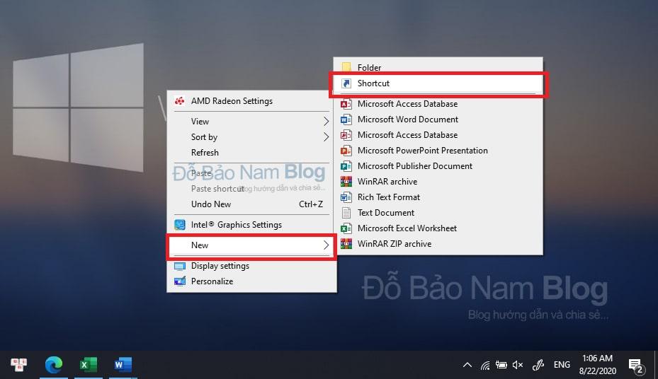 Cách tạo nút shutdown trên Windows 10 - Ảnh minh họa 01
