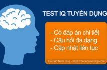 Tổng hợp các bài test IQ tuyển dụng có đáp án mới nhất